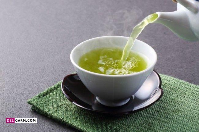 چای سبز و هل