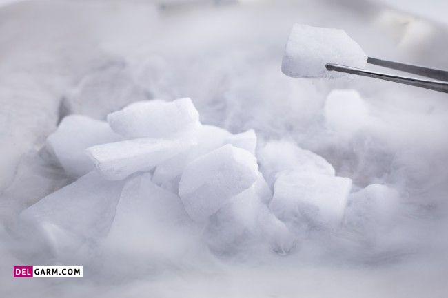 کاربرد یخ خشک