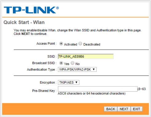 تنظیمات مودم تی پی لینکTP-Link