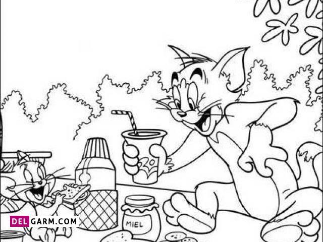 نقاشی تام و جری