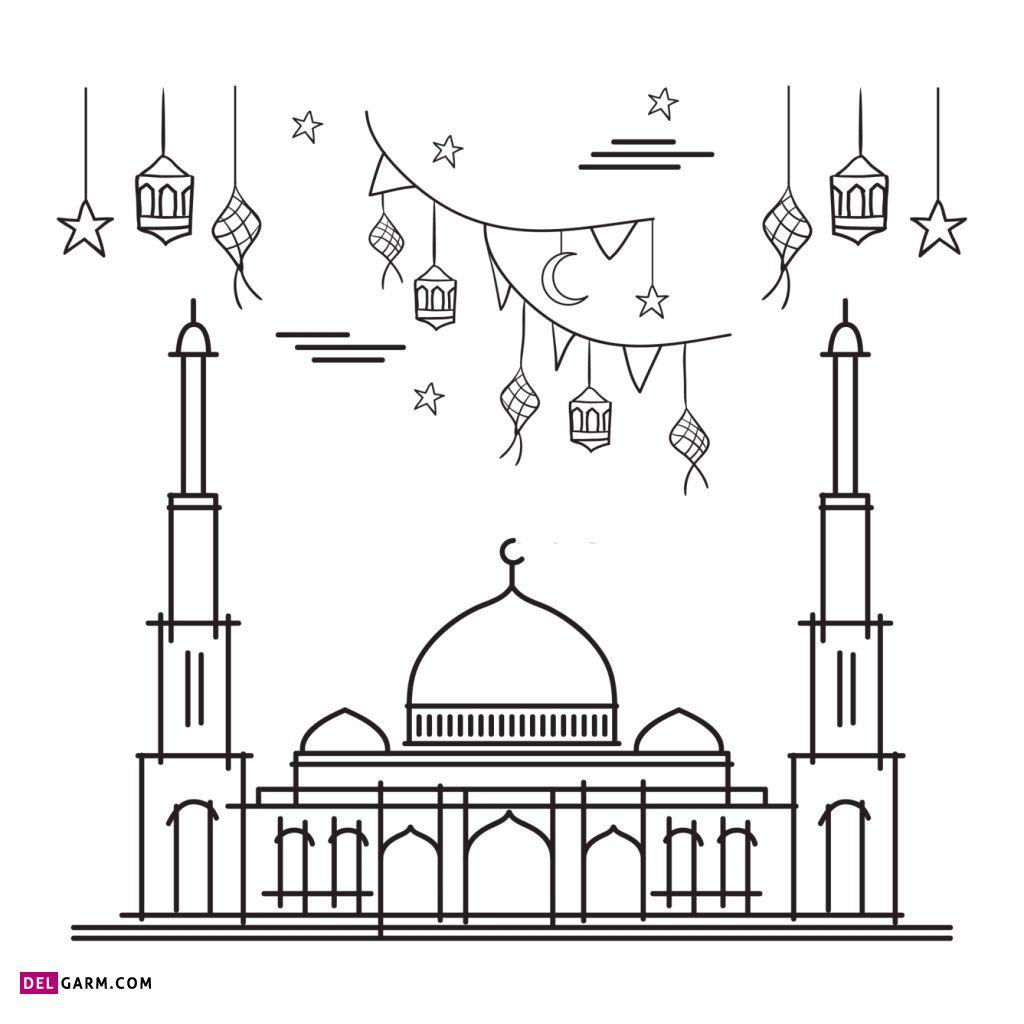 نقاشی مسجد