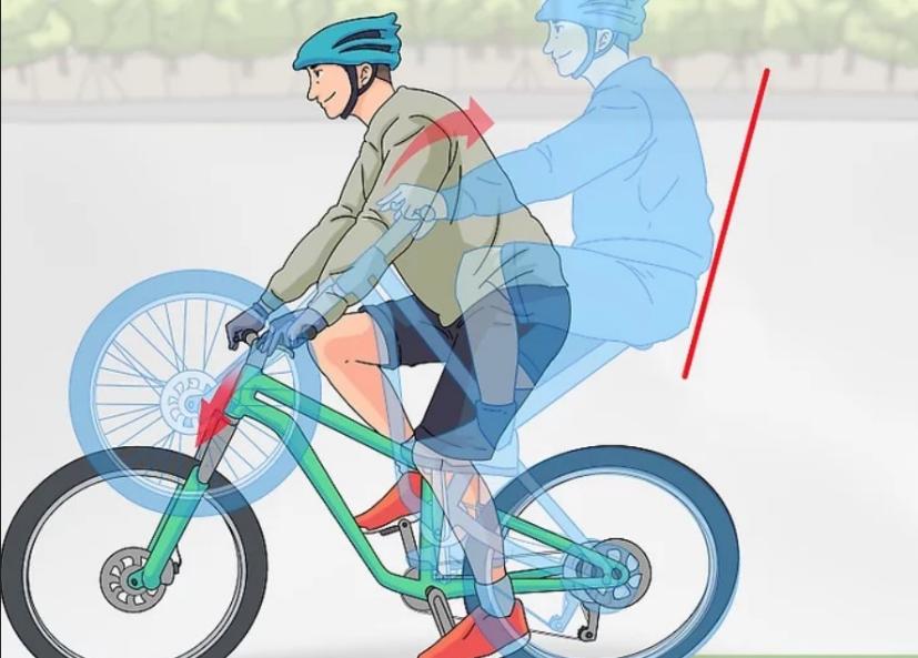 تک چرخ زدن با دوچرخه / آموزش تک چرخ با دوچرخه
