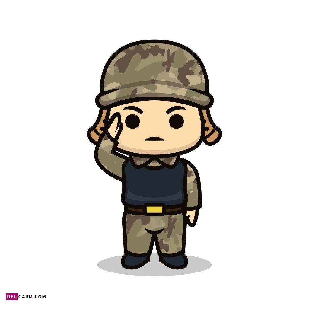 عکس تبریک روز سرباز