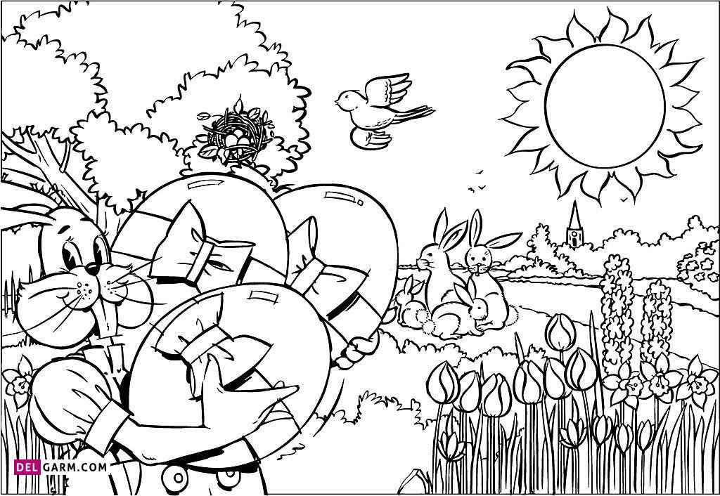 نقاشی تخم مرغ