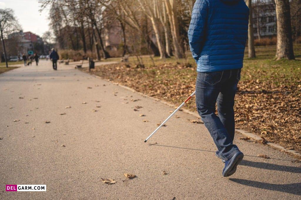 عکس روز جهانی نابینایان