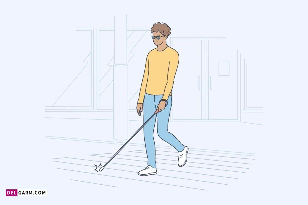 نقاشی روز جهانی نابینایان