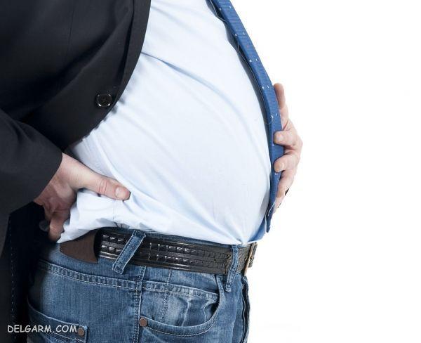 بهبود نفخ شکم