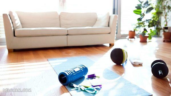 هنگام تعطیل بودن باشگاه چگونه از افزایش وزن جلوگیری کنیم ؟