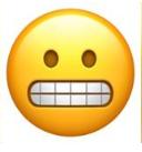 معنی ایموجی ها | معنی ایموجی با دندان های درآمده