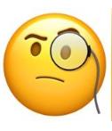معنی ایموجی ها | معنی ایموجی چهره با عینک یک چشمی