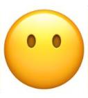 معنی ایموجی ها | صورت بدون دهان