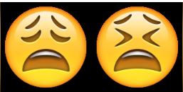 معنی ایموجی ها | معنی ایموجی چهره ی خسته