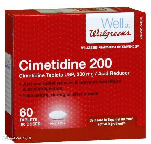 سایمتیدین   داروی جایگزین رانیتیدین   داروی جایگزین برای قرص رانیتیدین