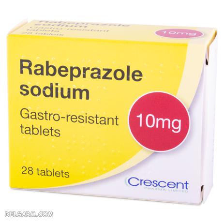 رابپرازول   داروی جایگزین رانیتیدین   داروی جایگزین برای قرص رانیتیدین