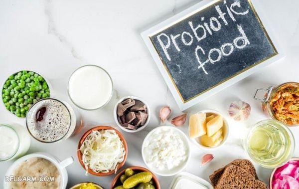 مواد غذایی حاوی پروبیوتیک
