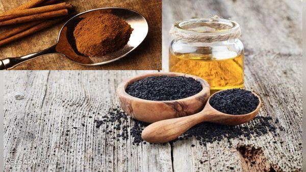 روغن سیاه دانه و عسل