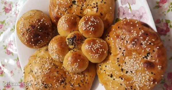 نان شیرمال زنجبیل و دارچین