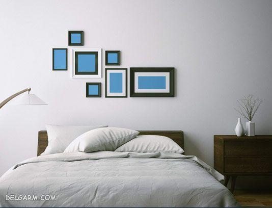 بزرگ نشان دادن اتاق خواب های کوچک