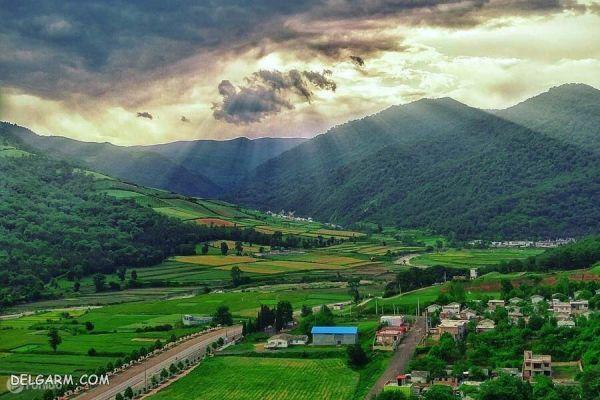 گیلان و مازندران از شهرهای توریستس ایران