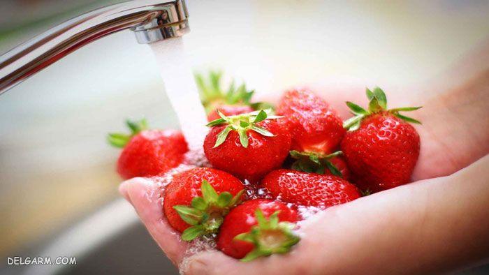 شستن توت