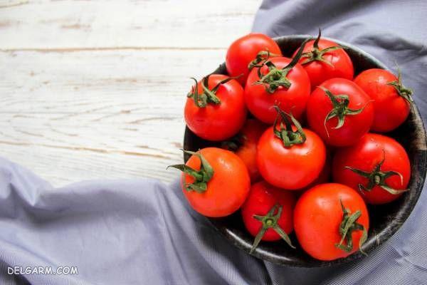 نگهداری گوجه در یخچال