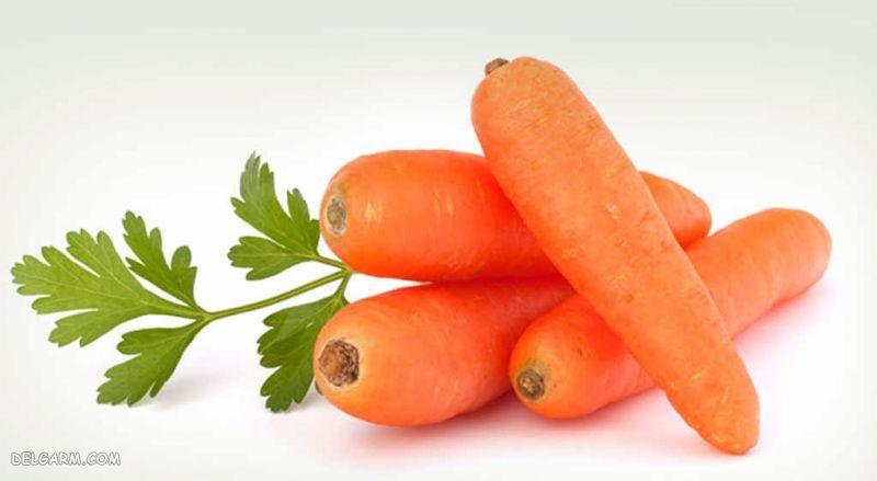 هویج دارای ویتامین A