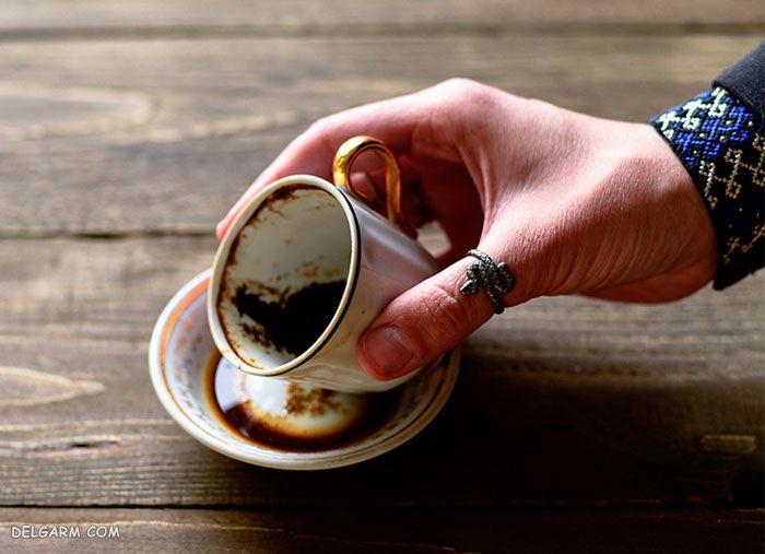 کوزه در فال قهوه
