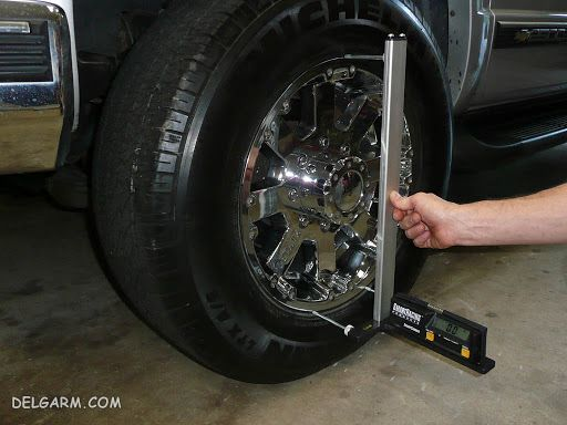اصطلاحات چرخ خودرو / تنظیم زوایای چرخ  خودرو