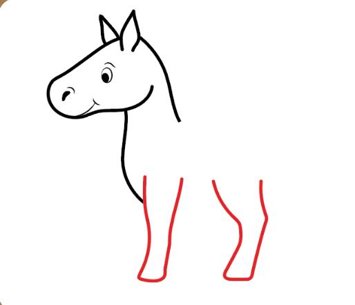 آموزش مرحله به مرحله کشیدن اسب
