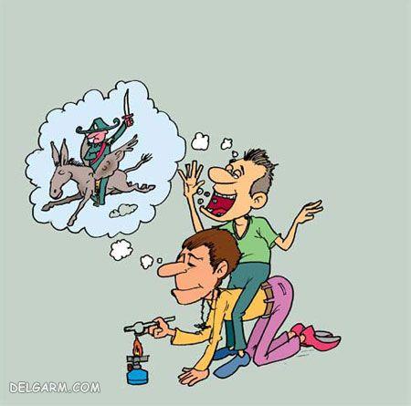 نقاشی اعتیاد / نقاشی در مورد اعتیاد / کاریکاتور اعتیاد  /نقاشی اعتیاد به مواد مخدر