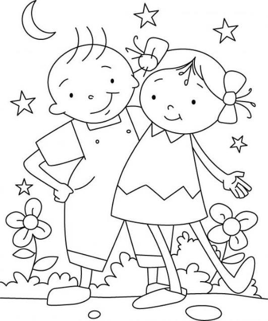 نقاشی کودکانه / نقاشی دخترانه کودکانه / نقاشی کودکانه برای پسر بچه