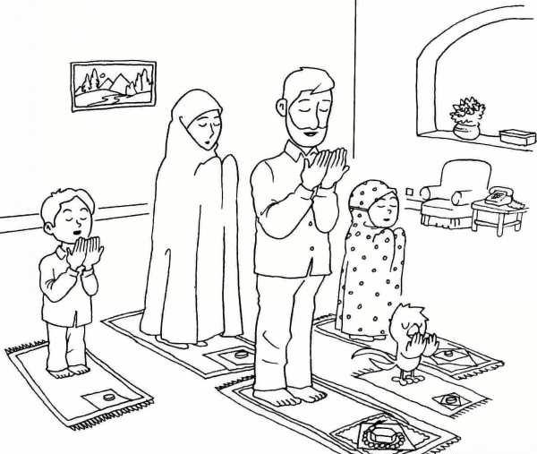 عکس ماه رمضان کودکانه