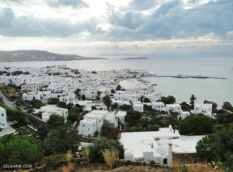 جزیره میکونوس یونان