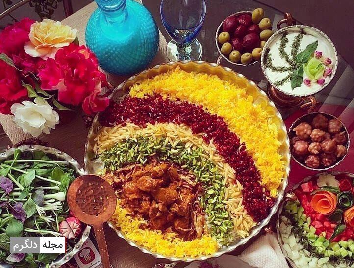 غذای اصلی شب چهارشنبه سوری چیست ؟