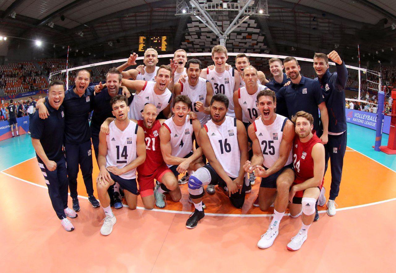 ساعت بازی والیبال ایران امریکا امشب
