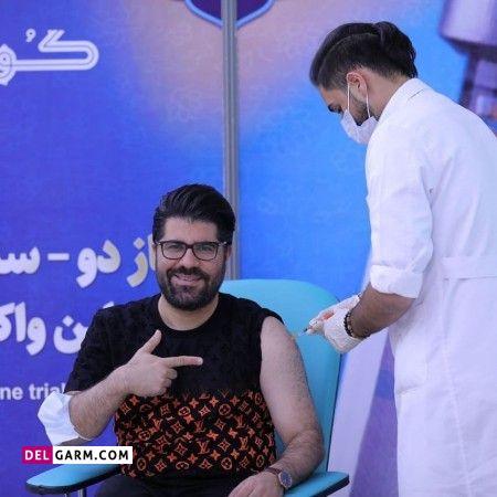 هنرمندانی که واکسن ایرانی کرونا زدند