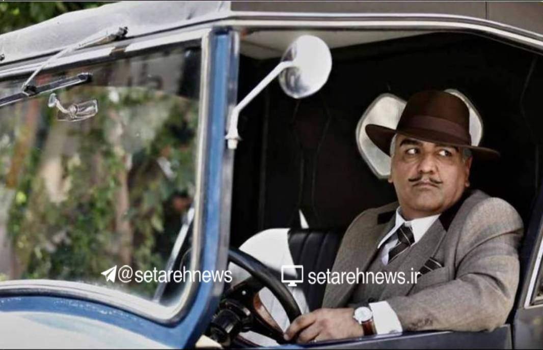 گریم مهران مدیری در سریال خاتون