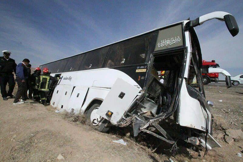 حادثه اتوبوس خبرنگاران