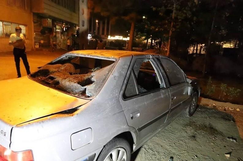 انفجار لوله گاز در شهران