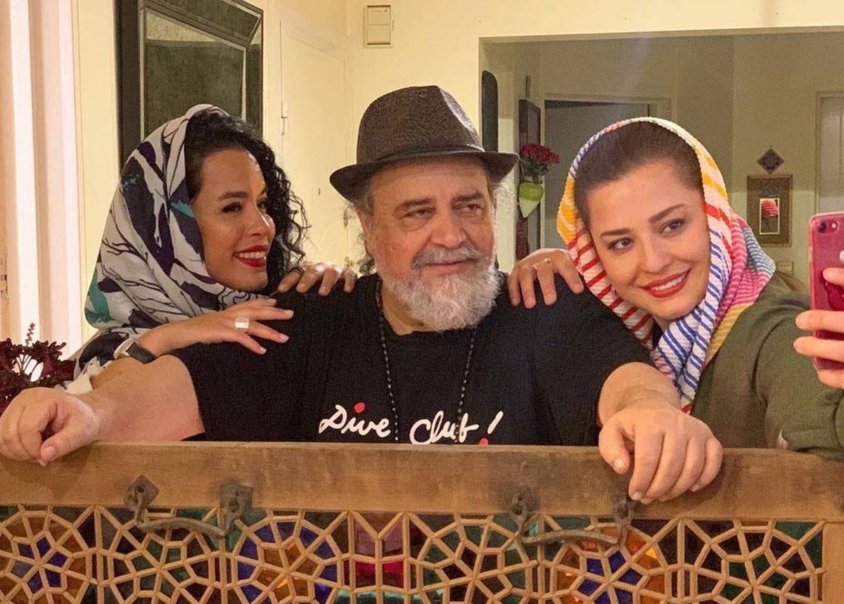 پدر و دختر بازیگر سینمای ایران