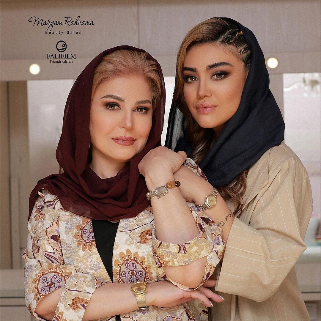 عکس های جدید اکرم محمدی ، میکاپ جدید اکرم محمدی