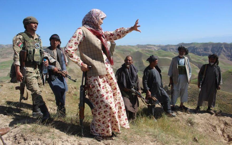بیوگرافی سلیمه مزاری: زندگینامه و عکس های فرمانده زن افغان