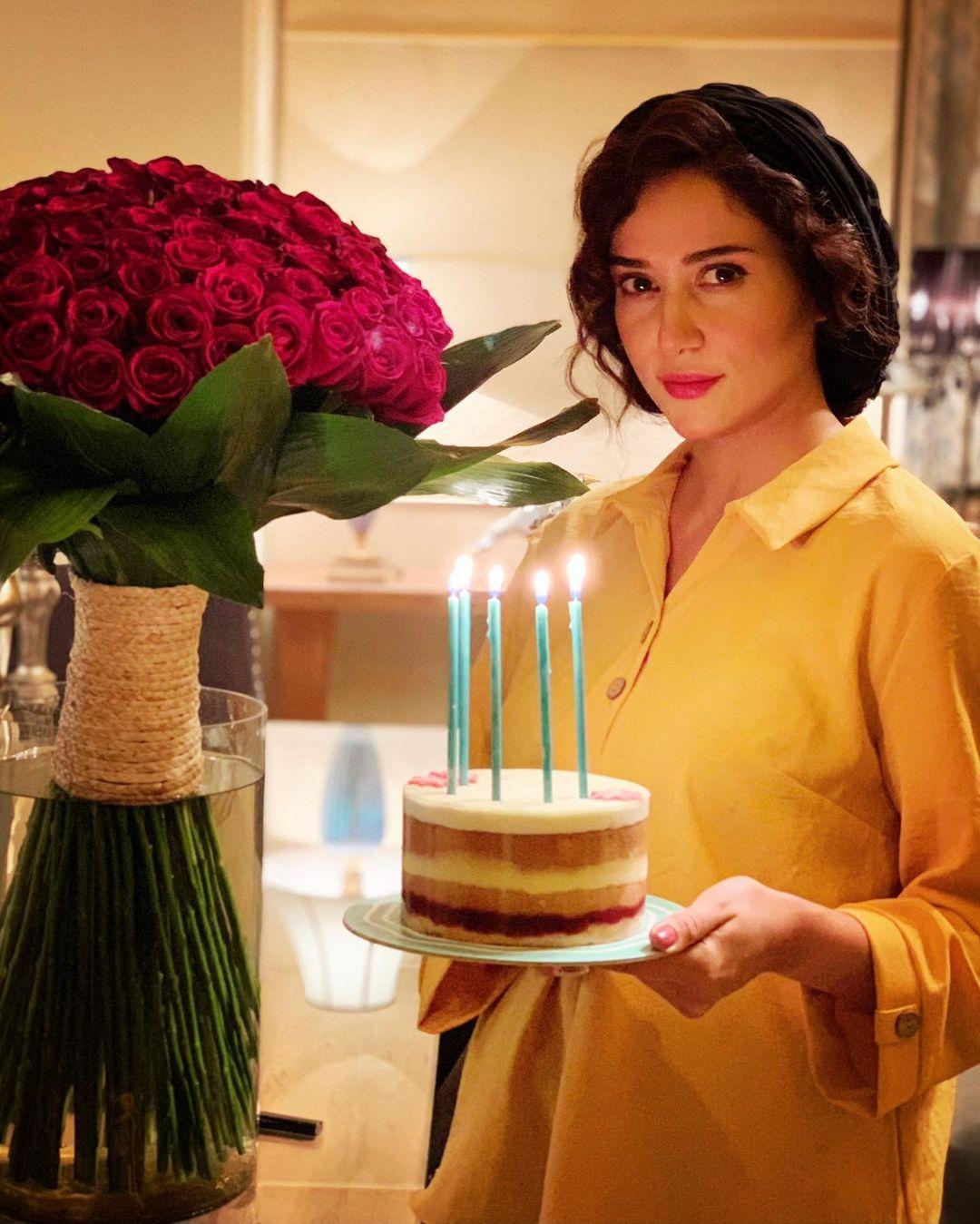 جشن تولد 36 سالگی پریناز ایزدیار