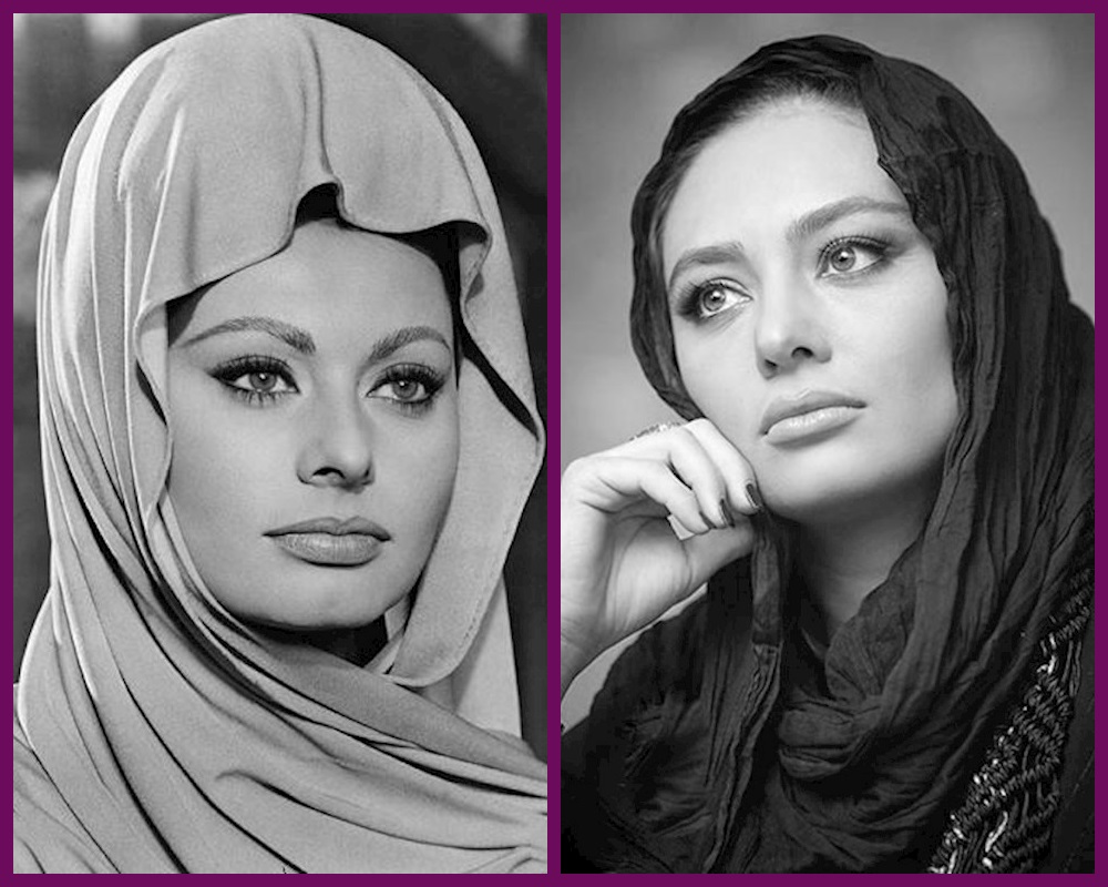 یکتا ناصر و سوفیا لورن چقدر شبیهند ؟