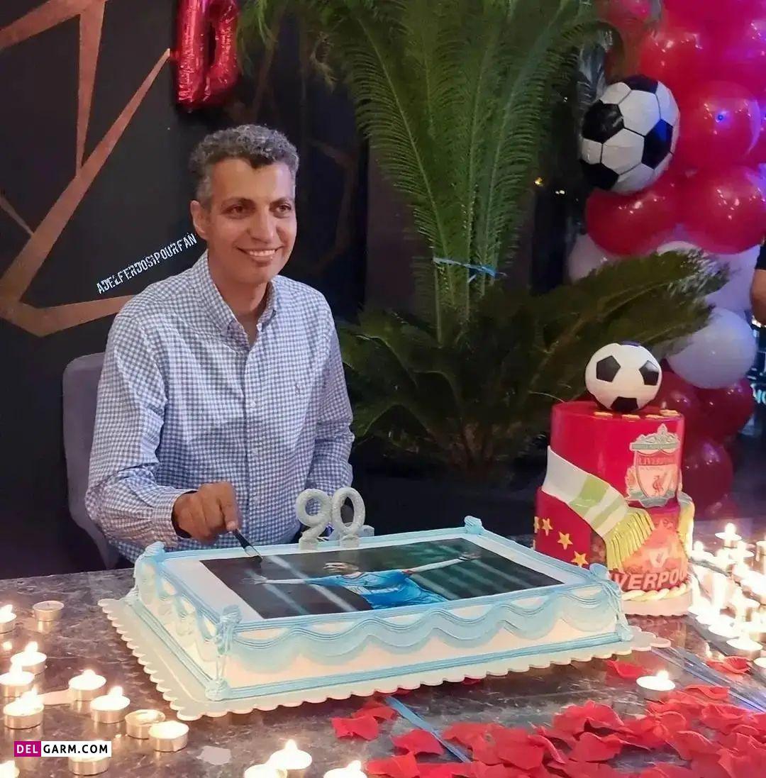 جشن تولد 47 سالگی عادل فردوسی پور
