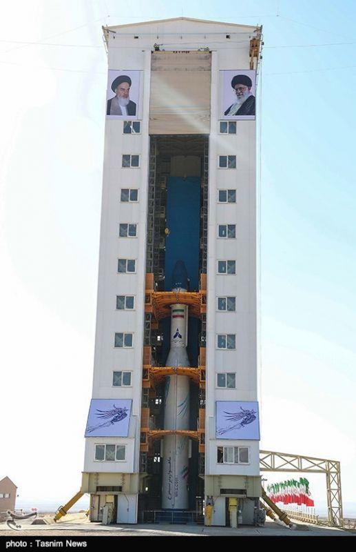 تصاویری از پرتاب ماهوار ظفر