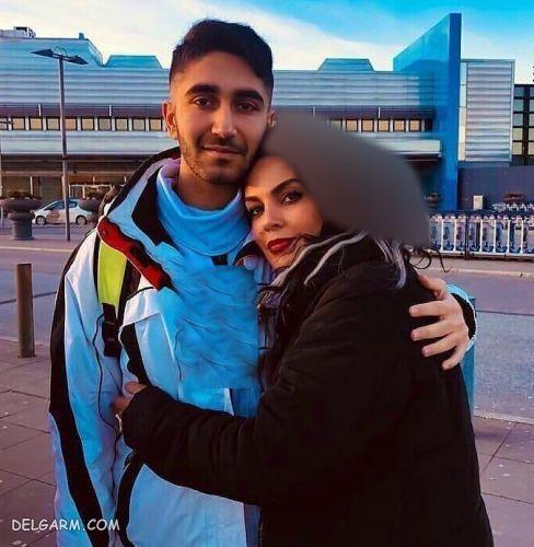 سارا خوئینی ها در کنار پسرش