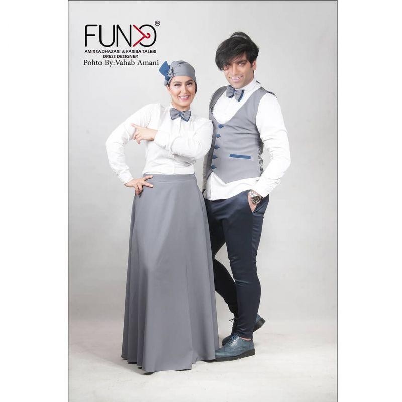 عکس های جدید فریبا طالبی در کنار همسرش  !