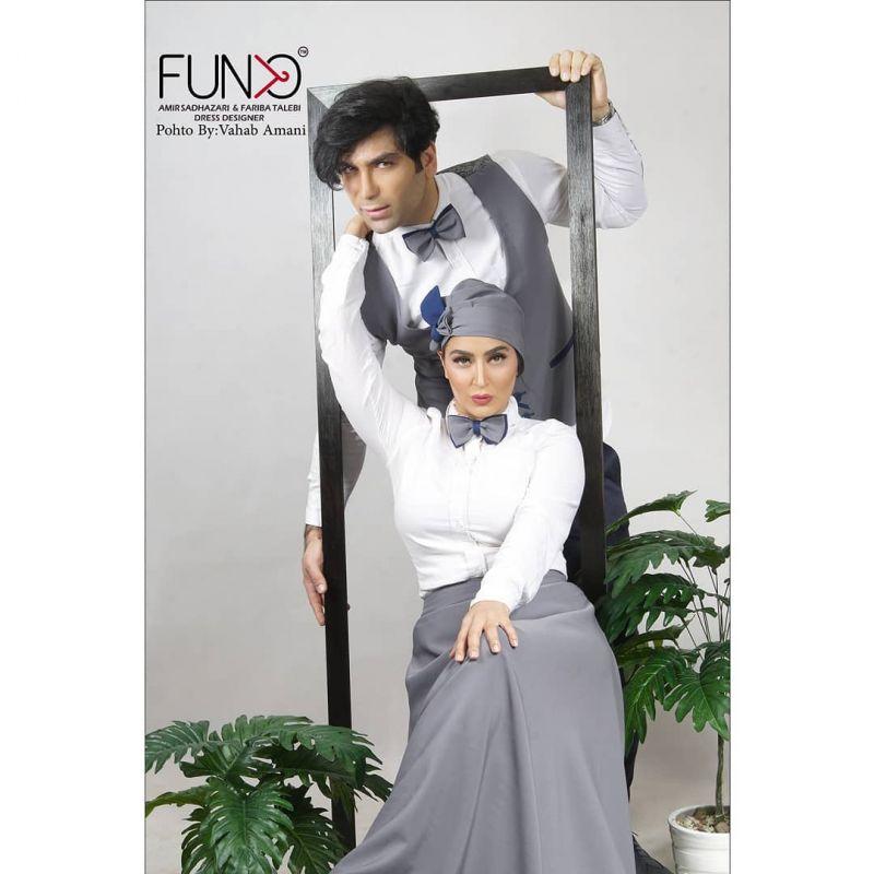 عکس های جدید فریبا طالبی و همسرش