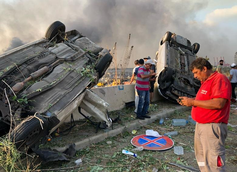 عکس های انفجار در بیروت